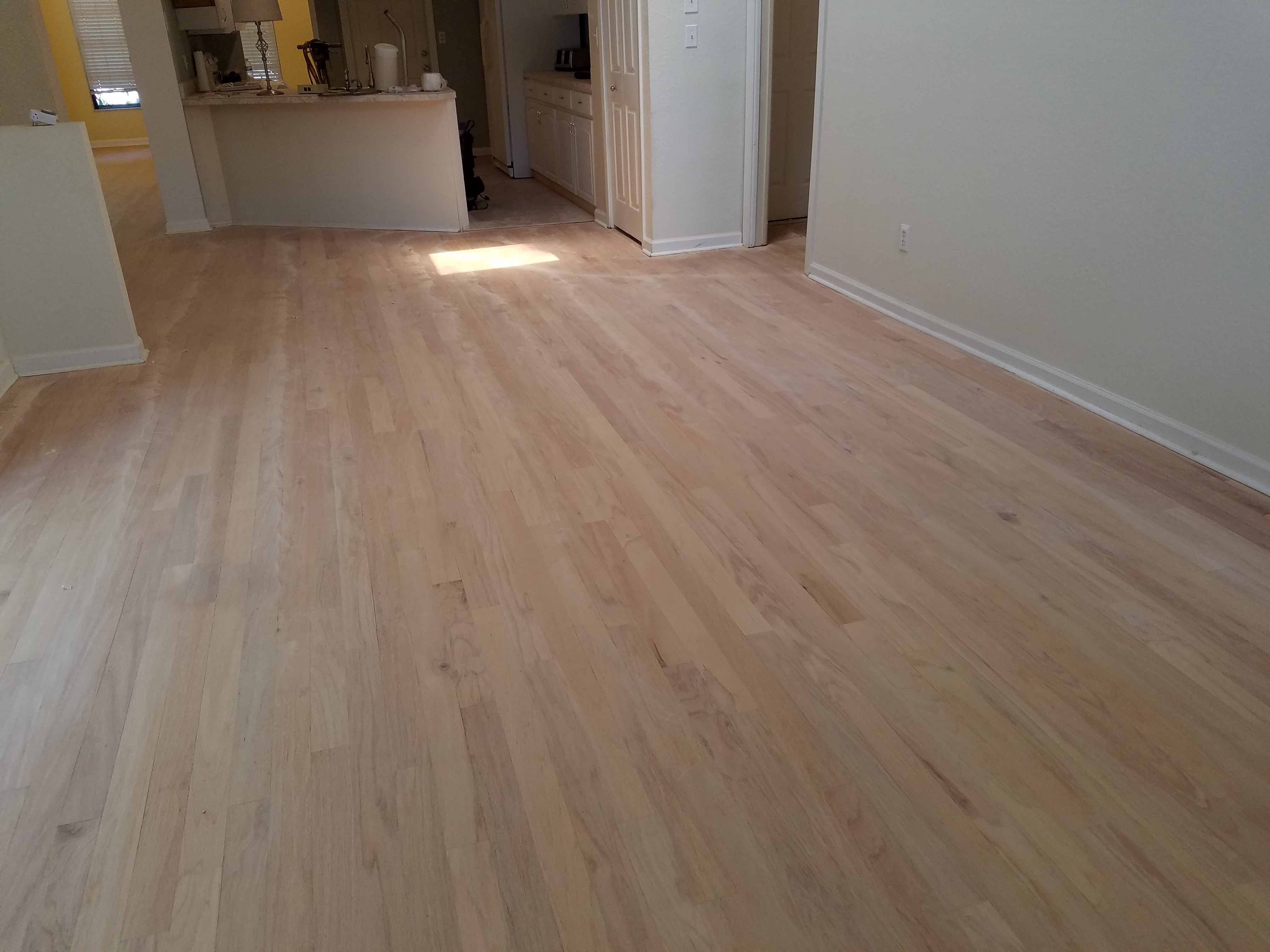 George S Newly Refinished Floor B Amp M Hardwood Floors